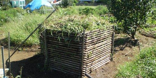 Making Biodynamic Compost.