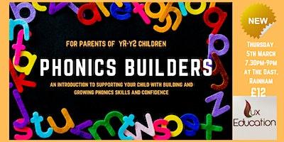 Phonics Builders Workshop for Parents