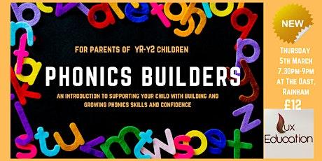 Phonics Builders Workshop for Parents tickets