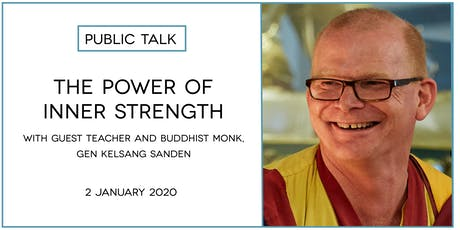 The Power of Inner Strength - a public talk tickets