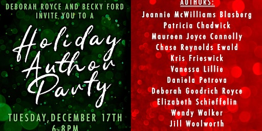 Holiday Author Party