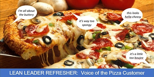 LEAN LEADER REFRESHER: Voice of the Pizza Customer