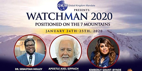 Watchman 20/20 (Positioned on the 7 Mountains) - Vendor Registration tickets