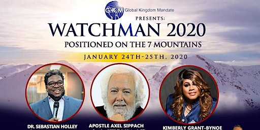 Watchman 20/20 (Positioned on the 7 Mountains) - Vendor Registration