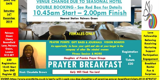 Early Will I seek You - (DOP) Daughters Of Promise - Prayer Breakfast