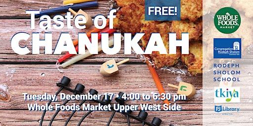 Taste of Chanukah at Whole Foods Market UWS