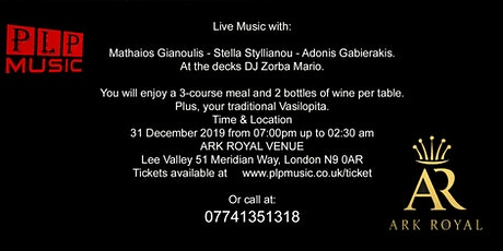 The Best New Years Eve Greek Night 2019 tickets