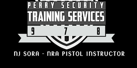 NJ SORA  JANUARY 2020 RENEWAL CLASSES - PERRY TRAINING SERVICES tickets