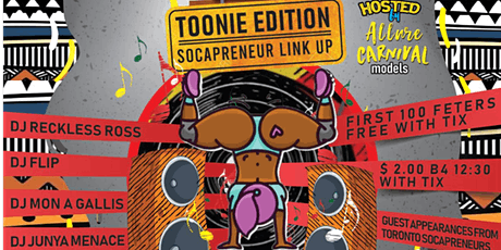 FETESHOP Toonie EDITION SOCAPRENEUR LINK UP tickets