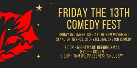 Friday the 13th Comedy Fest tickets