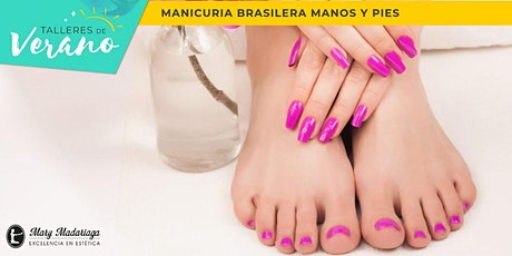 Taller de Manicuría Brasilera - Manos y Pies entradas