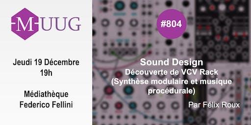 MUUG#804 - Découverte de VCV Rack avec Félix Roux (AC-Tone)
