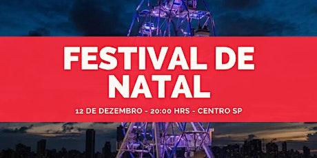 Festival de Natal SP ingressos