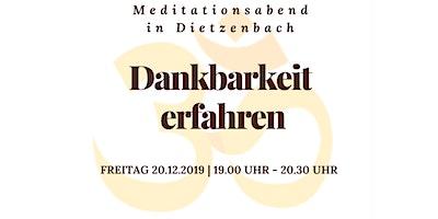 Meditationsabend in Dietzenbach