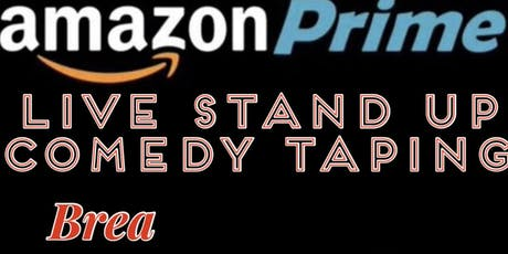 Live AMAZON Prime Stand up comedy Special Recording tickets