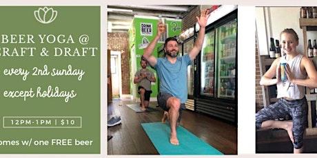 Beer Yoga I Craft & Draft tickets