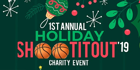 Holiday #ShootItOut Basketball Charity Drive (Toy /Coat/ Donation ) tickets