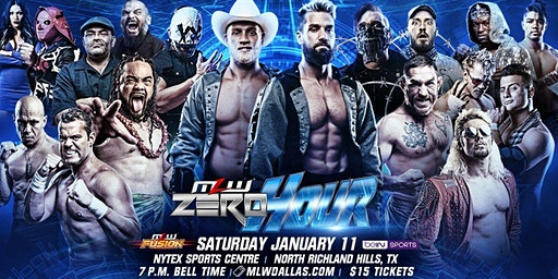 MLW: ZERO HOUR (Major League Wrestling Fusion TV Taping)