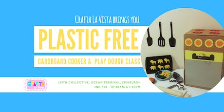 """Plastic Free Play Kitchen & Homemade PlayDough """"Cooking"""" Class for Children tickets"""