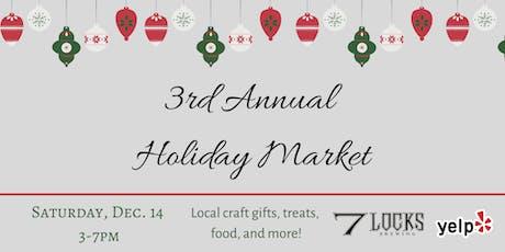 7 Locks Brewing 3rd Annual Holiday Market tickets