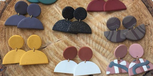 Kelsey's Crafted Co. Clay Earring Workshop