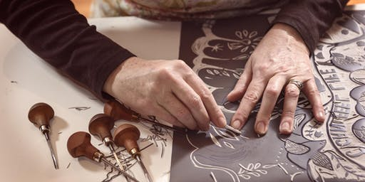 Learn to Linocut with Tom Armstrong