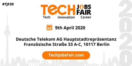 Tech Jobs Fair Lisbon - 2020 tickets