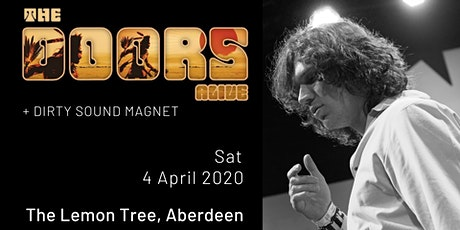 The Doors Alive - The Lemon Tree, Aberdeen tickets