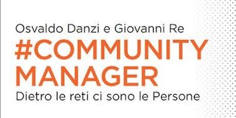 Community Manager - presentazione del libro biglietti