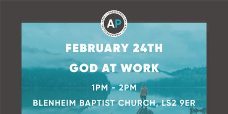Godly Influencer Seminars: God At Work tickets