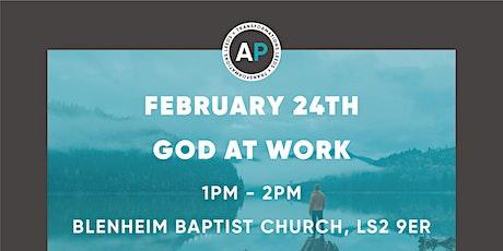 Godly Influencer Seminars: God At Work tickets