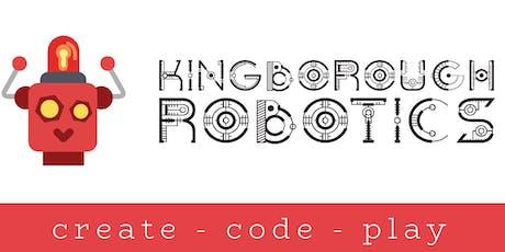 Intro to Ozobots Bruny (age 6 - 9yrs) - Kingborough Robotics @ Bruny Online tickets