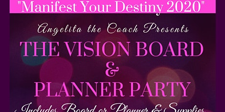 Manifest Your Destiny - Vision Board & Planner Party tickets