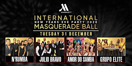 International Salsa New Years Eve Party Masquerade  tickets