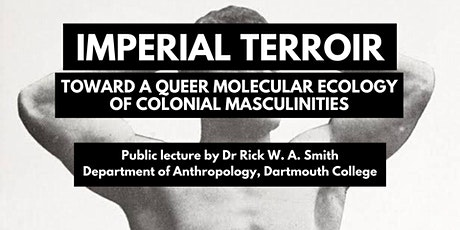 Rick W. A. Smith public lecture tickets