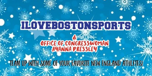Holiday Fun with I Love BOSTON Sports!