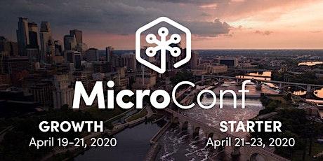 MicroConf USA 2020 tickets