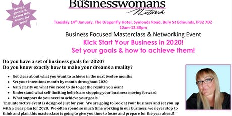 The Business Womans Network - Kick start your business in 2020! tickets