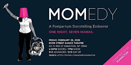 MOMedy: A Postpartum Storytelling Endeavor tickets