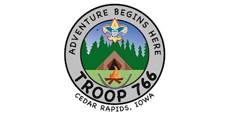 Troop 766 Cedar Rapids MBU tickets