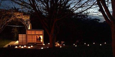 Cérémonie de thé  d'hiver à la lumière des bougies Yobanashi billets