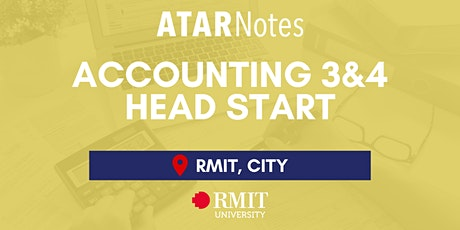 VCE Accounting Units 3&4 Head Start Lecture tickets