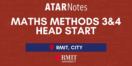 VCE Maths Methods Units 3&4 Head Start Lecture