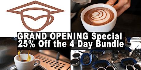 Coffee Business and Barista Training Bundle (4days) - Calgary tickets