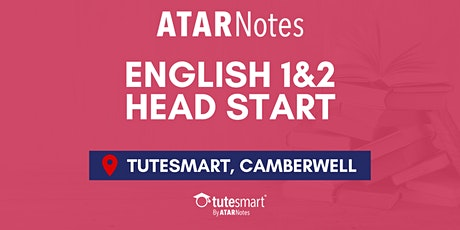 VCE English Units 1&2 Head Start Lecture - Camberwell tickets
