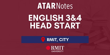 VCE English Units 3&4 Head Start Lecture tickets