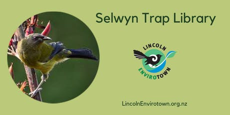 Selwyn Trap Library - October 2020 tickets