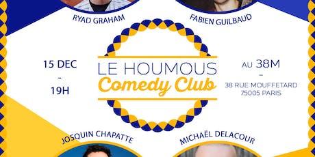 Le Houmous Comedy Club - S01E07 billets
