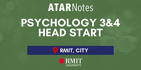 VCE Psychology Units 3&4 Head Start Lecture - REPEAT 2 tickets