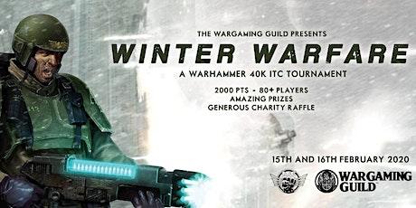 LWG Open: Winter Warfare 2020 - 40K ITC Tournament - 80PPL tickets